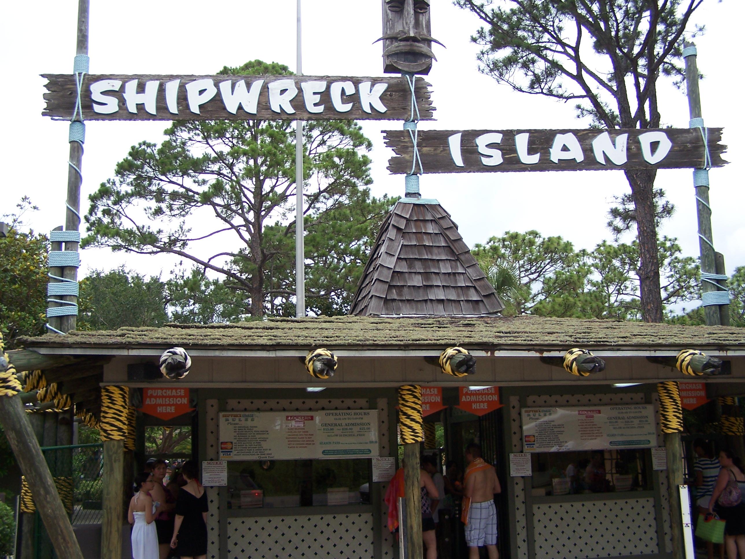 Shipwreck Island Panama City Beal