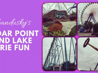 Sandusky's Cedar Point and Lake Erie Fun