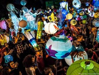 Lantern parade