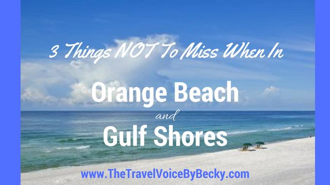 Orange Beach and Gulf Shores