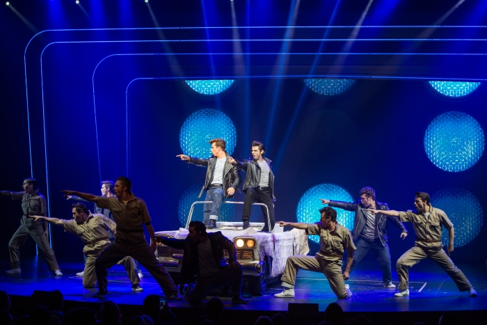 Grease the musical on Harmony of the Seas - Photo credit: Simon Brooke-Webb Photography