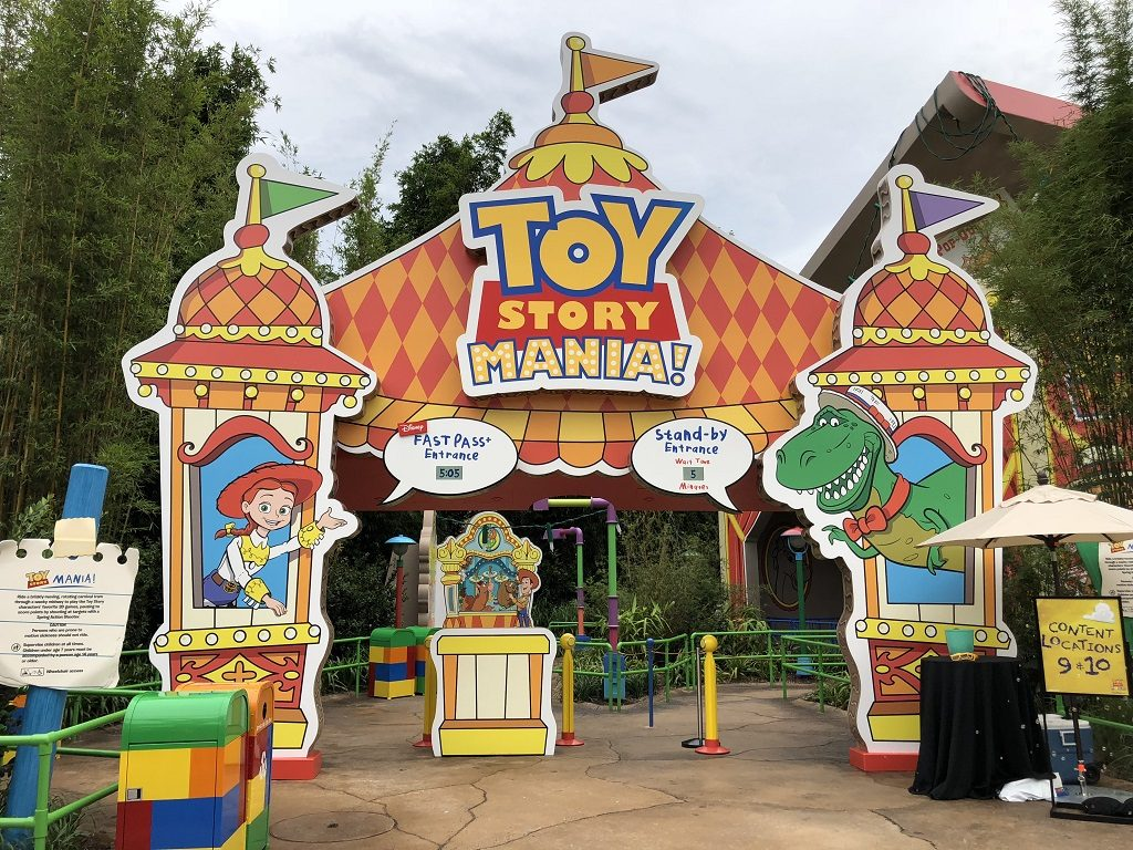 Toy Story Mania! in Toy Story Land